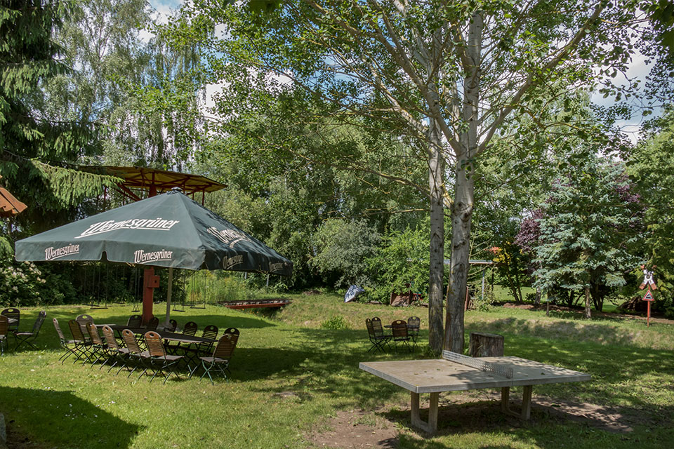 Ihr Sommergarten Im Stettiner Hof für Gross und Klein ein Erlebniss